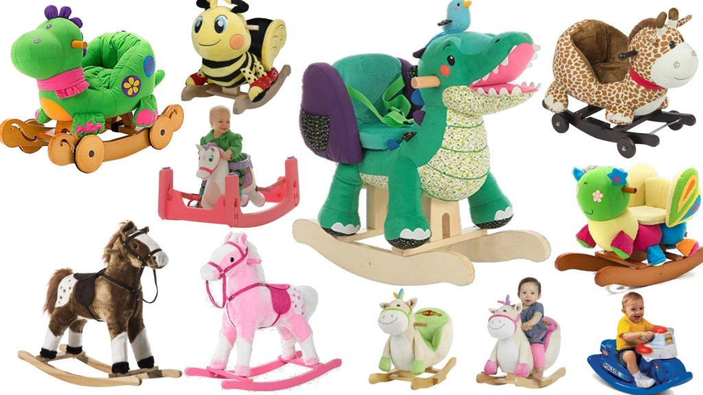 plush rocking horses animal ride on toys for babies toddlers kids - Animal Pictures For Toddlers