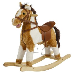 Rockin\' Rider Plush Rocking Horse with Sounds & Movement for ...