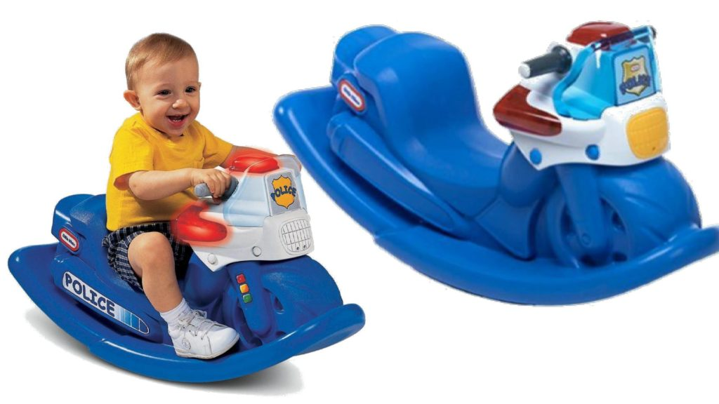 Little Tikes rocking Police Cycle with seat Rocker ...