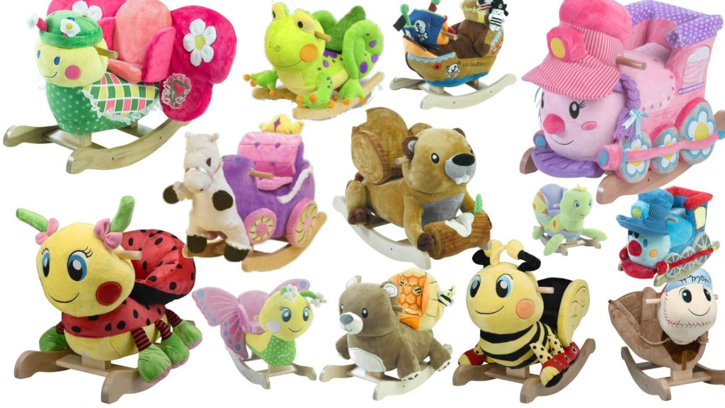 Best Plush Rocking Horses Animals W Seats For Babies Toddlers