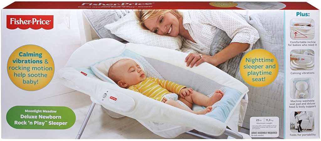 Fisher Price Deluxe Rock N Play Baby Sleeper For Newborns Amp Infants