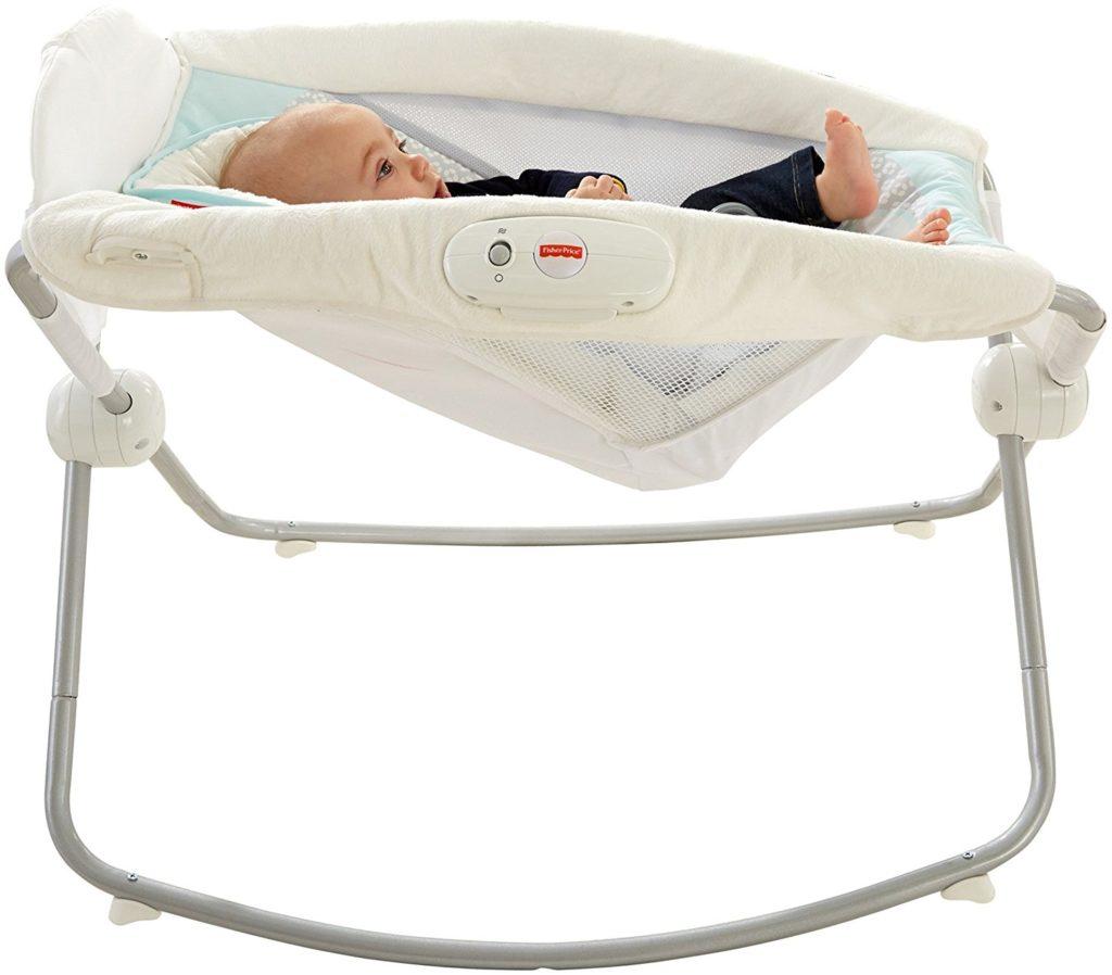 Fisher Price Deluxe Rock N Play Baby Sleeper For Newborns
