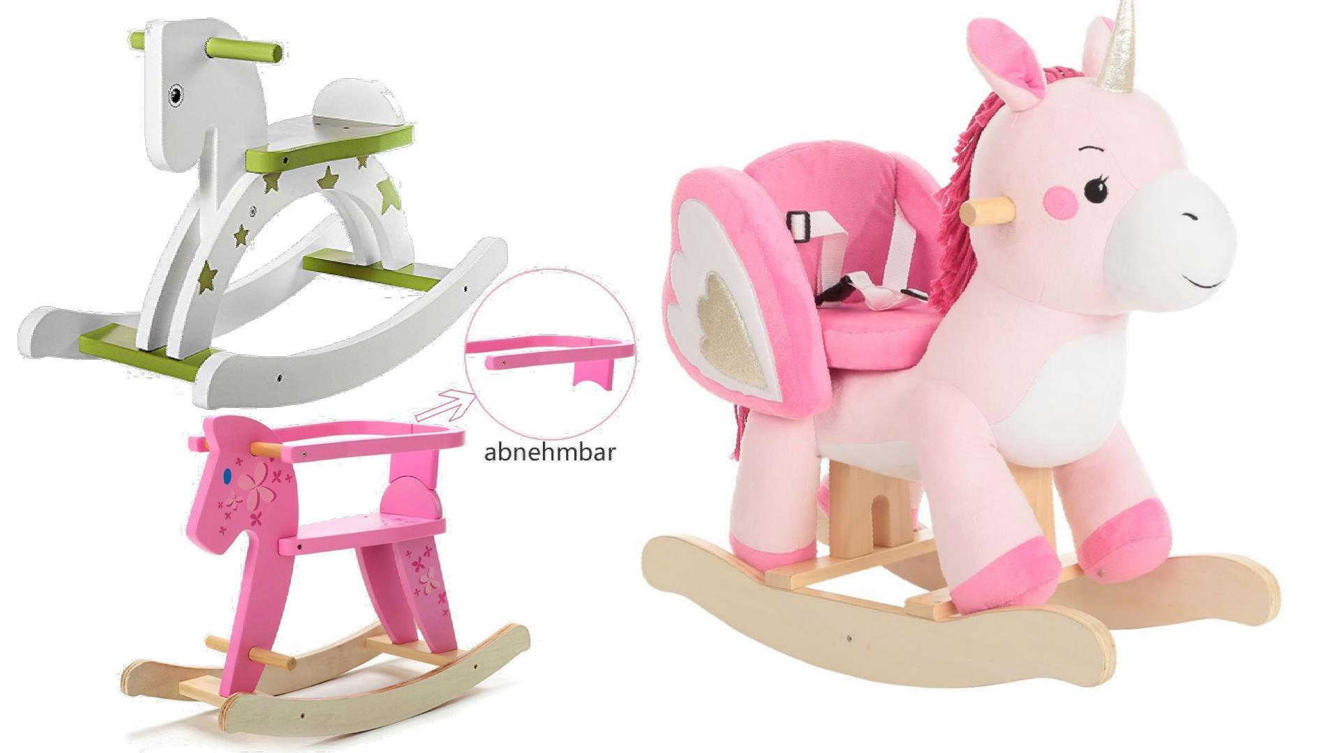 Best plush rocking horses animals w seats for babies