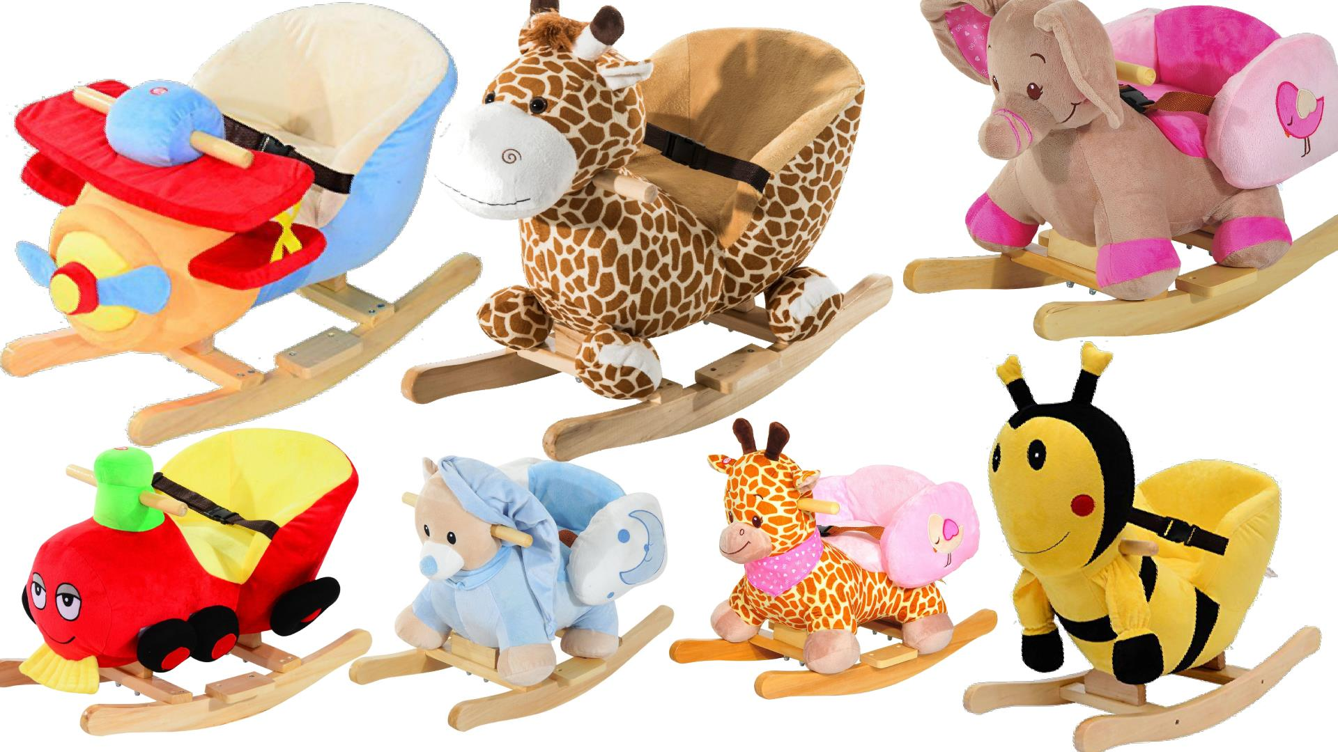 Best Plush Rocking Horses Animals W Seats For Babies Toddlers - Animal-chairs-for-children