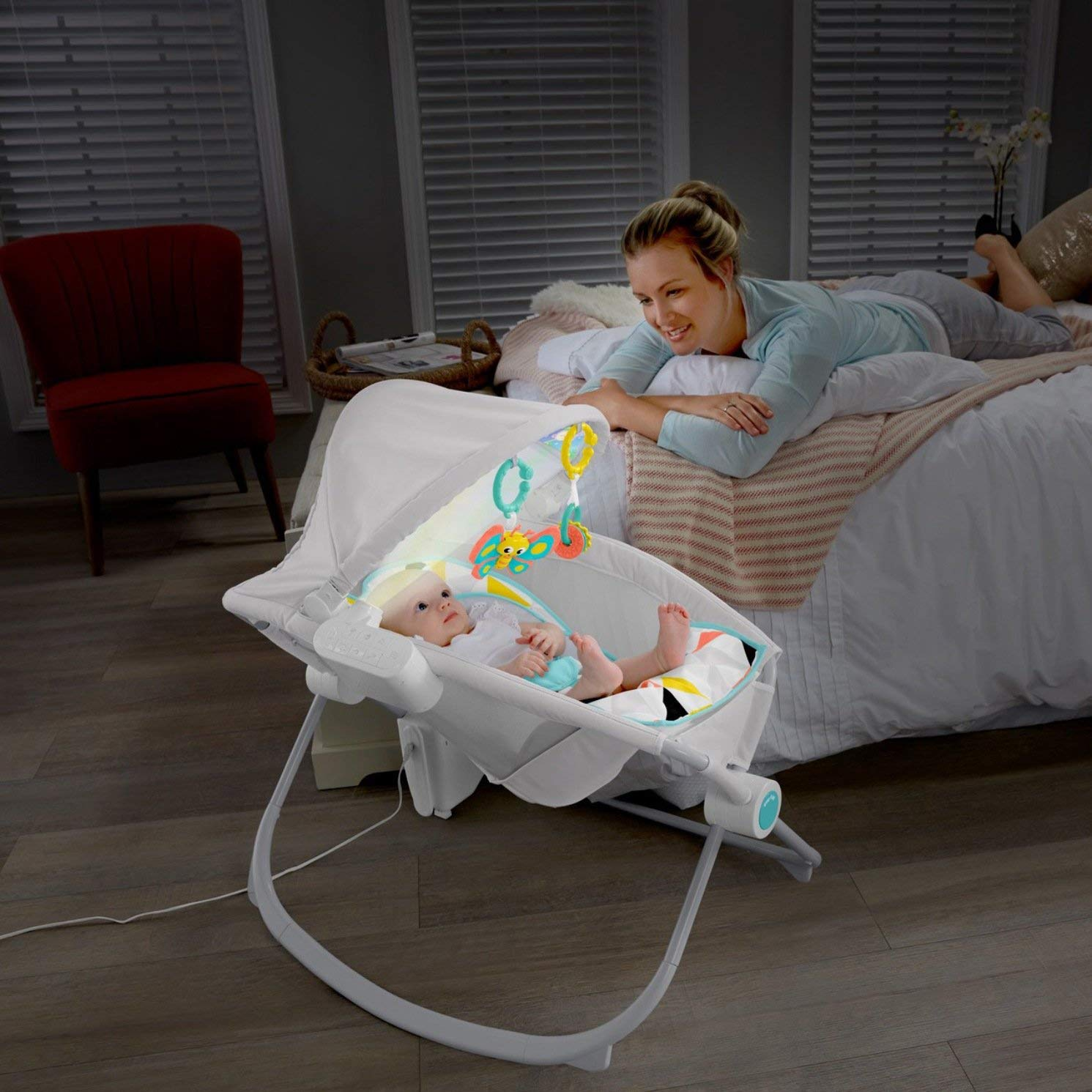 Fisher Price Premium Auto Rock N Play Sleeper With Just The Right