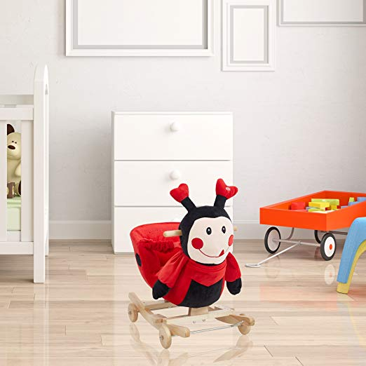 Adorable Plush Rocking Animal Chairs For Baby S Nursery Decor Kids