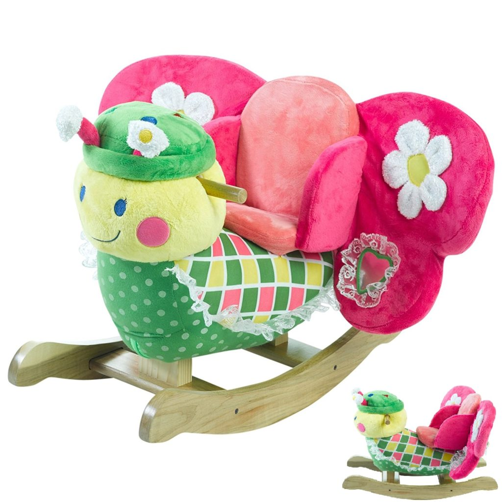Rockabye Rocking Butterfly With Chair Colorful Attractive